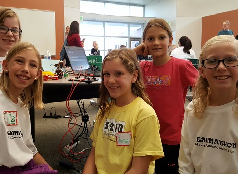 STEAM Learning Empowering Girls