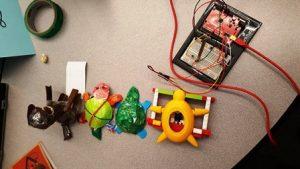 Designathon prototypes developed from STEAM learning.