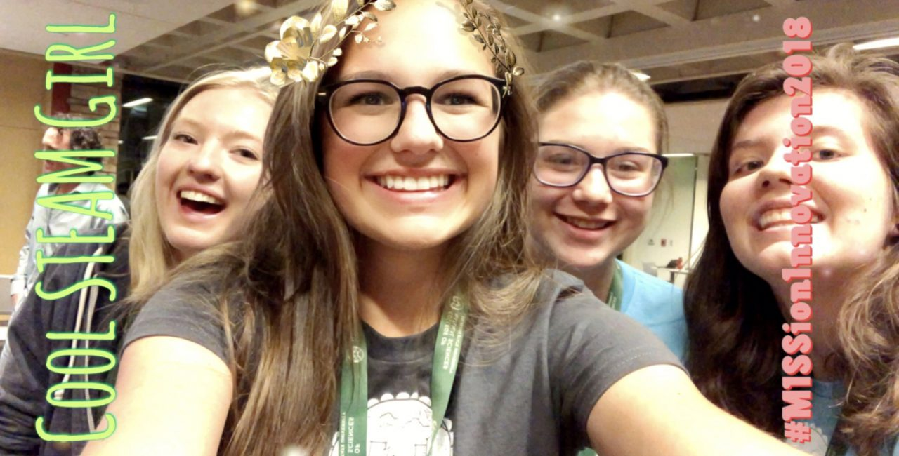 Girls in STEM celebrate 24 hours of innovating for the climate